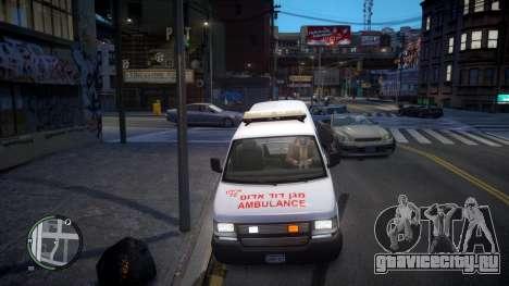 Israel MDA Ambulance для GTA 4