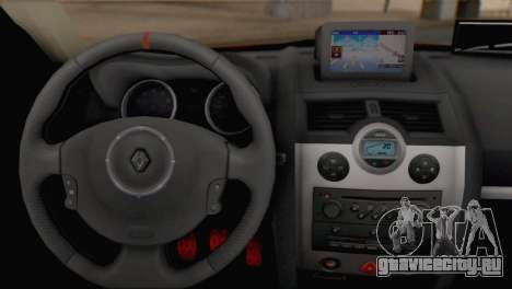 Renault Megane II HatchBack для GTA San Andreas вид сзади слева