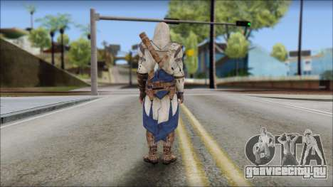 Connor Kenway Assassin Creed III v2 для GTA San Andreas второй скриншот