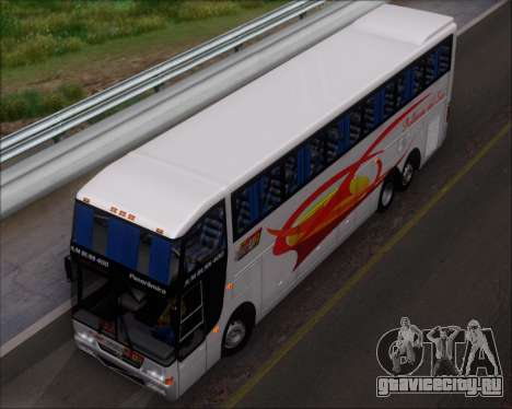 Busscar Jum Buss 400 Volvo B10R Pullman Del Sur для GTA San Andreas салон