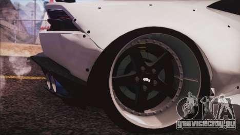 Lamborghini Huracan Liberty Walk для GTA San Andreas вид сзади слева