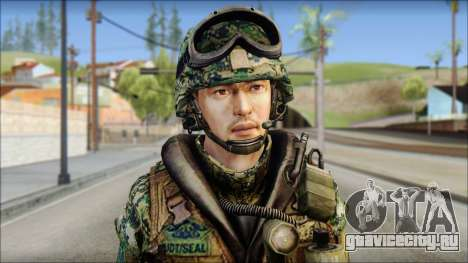 Forest UDT-SEAL ROK MC from Soldier Front 2 для GTA San Andreas третий скриншот