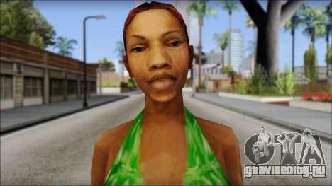 Kendl Skin для GTA San Andreas третий скриншот