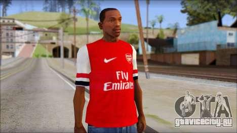 Arsenal 2013 T-Shirt для GTA San Andreas