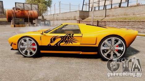 Vapid Bullet RS для GTA 4 вид слева