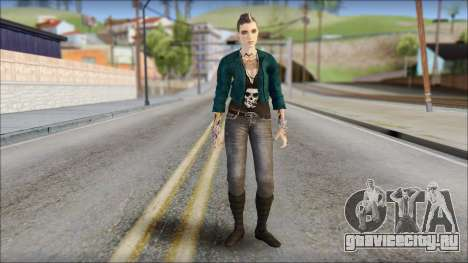 Clara Lille From Watch Dogs для GTA San Andreas
