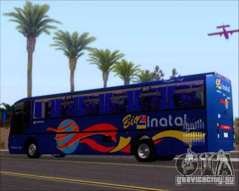 Busscar El Buss 340 Bio Linatal для GTA San Andreas салон