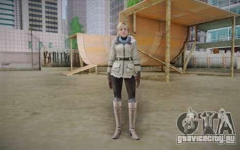 Sherry Birkin Europa from Resident Evil 6 для GTA San Andreas