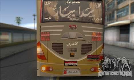 Sada Bahar Coach для GTA San Andreas вид сзади