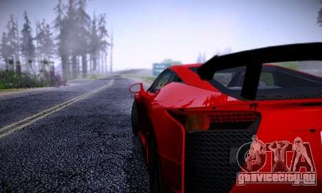 ENBSeries for Low PC для GTA San Andreas пятый скриншот