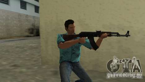 Автомат Калашникова Тип 1 для GTA Vice City третий скриншот