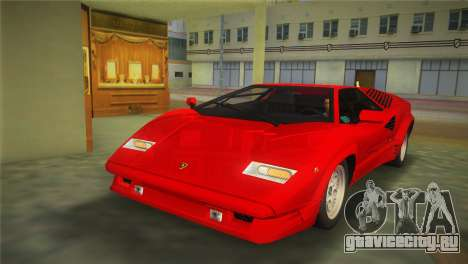 Lamborghini Countach 1988 25th Anniversary для GTA Vice City