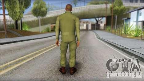 USAF Pilot On Base для GTA San Andreas второй скриншот