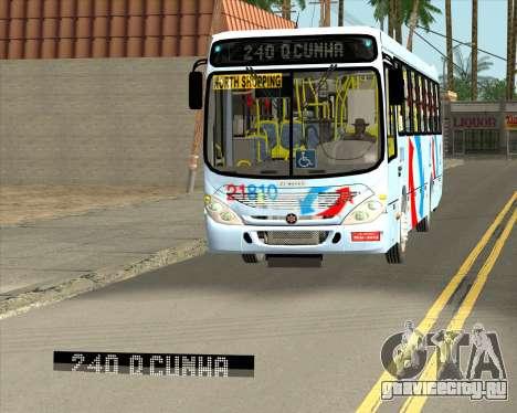 Marcopolo Torino G7 2007 - Volksbus 17-230 EOD для GTA San Andreas двигатель