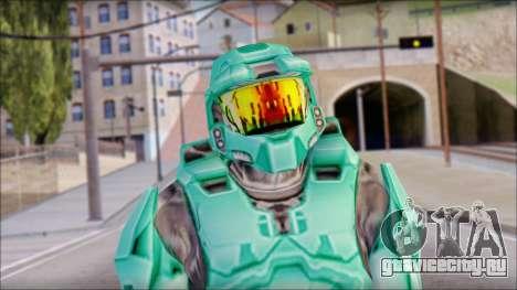 Masterchief Blue-Green from Halo для GTA San Andreas