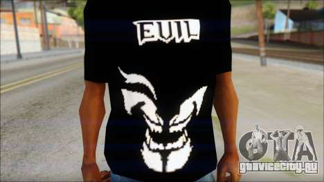 Evil T-Shirt для GTA San Andreas третий скриншот