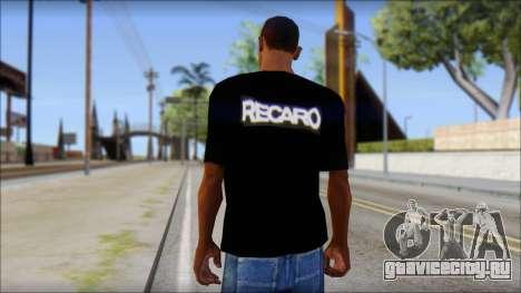 Recaro T-Shirt для GTA San Andreas второй скриншот