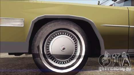 Cadillac Eldorado Stock для GTA San Andreas вид справа