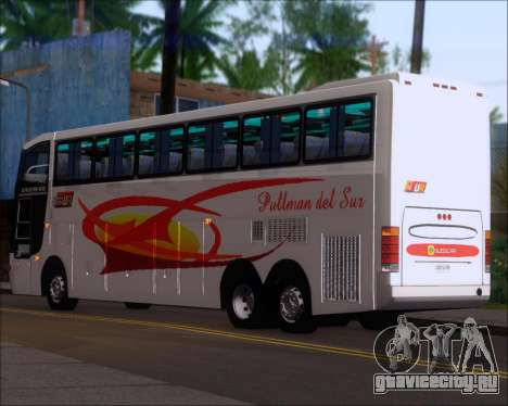 Busscar Jum Buss 400 Volvo B10R Pullman Del Sur для GTA San Andreas вид справа