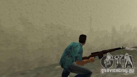 Самозарядная Винтовка Токарева для GTA Vice City второй скриншот
