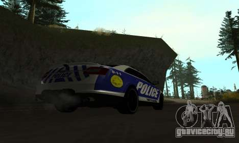 Ford Taurus HSO Police для GTA San Andreas вид слева