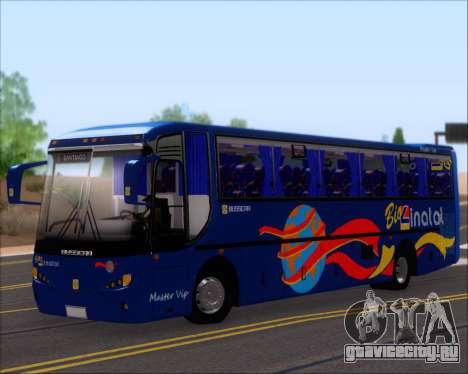 Busscar El Buss 340 Bio Linatal для GTA San Andreas колёса