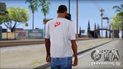 N1KE Head T-Shirt для GTA San Andreas второй скриншот