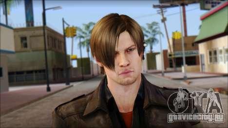 Leon Kennedy from Resident Evil 6 v1 для GTA San Andreas третий скриншот