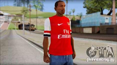 Arsenal FC Giroud T-Shirt для GTA San Andreas