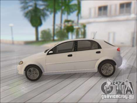 Chevrolet Lacetti для GTA San Andreas вид слева