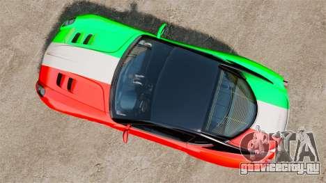 Ferrari 599 GTO PJ4 для GTA 4 вид справа