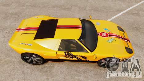 Vapid Bullet RS для GTA 4 вид справа