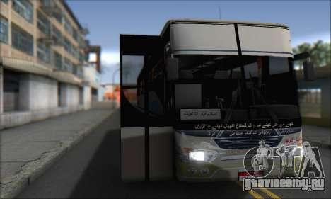 Sada Bahar Coach для GTA San Andreas вид сзади слева