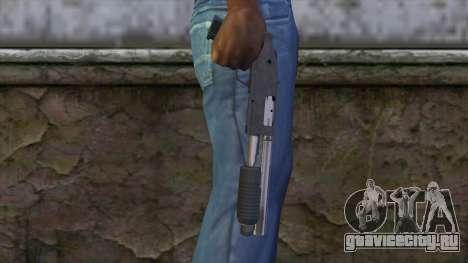 Sawnoff Shotgun from GTA 5 v2 для GTA San Andreas третий скриншот