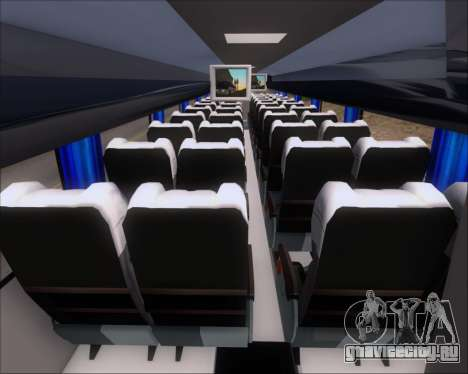 Busscar Vissta Buss LO Mercedes Benz 0-500RS для GTA San Andreas вид изнутри