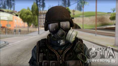 Tactical GIGN from Soldier Front 2 для GTA San Andreas третий скриншот
