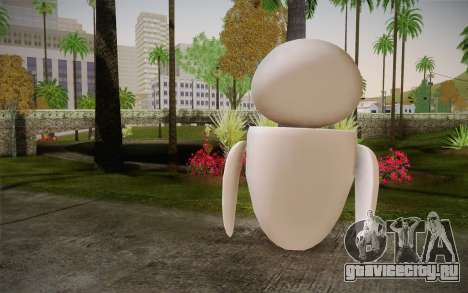 Eve Skin для GTA San Andreas второй скриншот