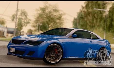 Ubermacht Zion XS 1.0 для GTA San Andreas