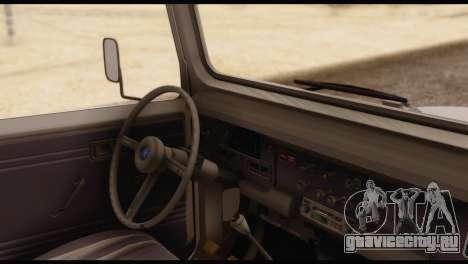 Toyota Land Cruiser (FJ40) 1978 для GTA San Andreas вид сзади слева
