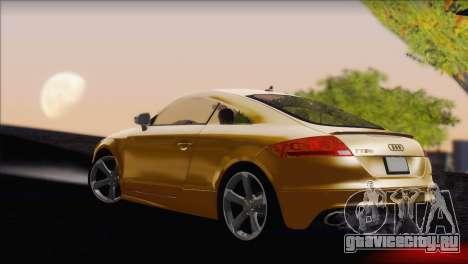 Audi TT RS v2 2011 для GTA San Andreas вид слева