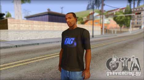 DG Negra T-Shirt для GTA San Andreas
