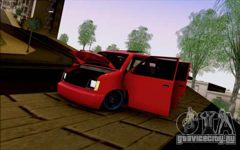 Moonbeam Stance для GTA San Andreas вид справа
