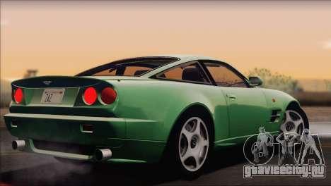 Aston Martin V8 Vantage V600 1998 для GTA San Andreas вид слева