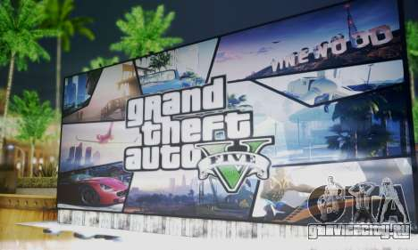 GTA V Billboards для GTA San Andreas