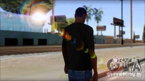 DG Negra T-Shirt для GTA San Andreas второй скриншот