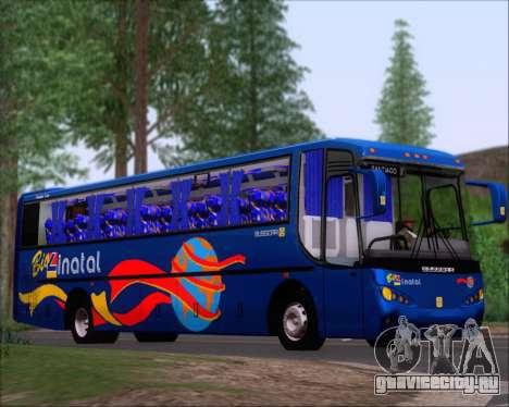 Busscar El Buss 340 Bio Linatal для GTA San Andreas вид слева