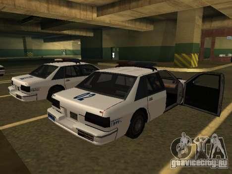 Police Original Cruiser v.4 для GTA San Andreas вид слева