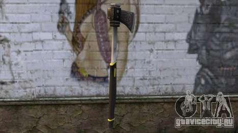 The Woodman Axe для GTA San Andreas второй скриншот