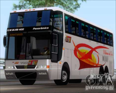 Busscar Jum Buss 400 Volvo B10R Pullman Del Sur для GTA San Andreas вид слева