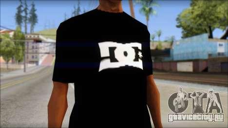 DC Shoes Shirt для GTA San Andreas третий скриншот
